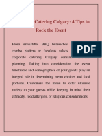 Corporate Catering Calgary 4 Tips to Rock the Event