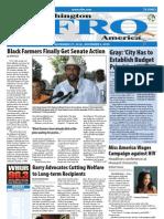 Washington D.C. Afro-American Newspaper, November 27, 2010