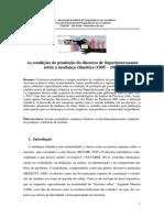 As condições de produção do discurso de Superinteressante sobre a mudança climática (1995 – 2015)