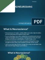 Neuro Pertemuan 1b TERMINOLOGI NEUROSAINS