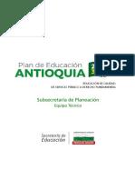 DOCUMENTO BORRADOR PLAN DE EDUCACIÓN DE ANTIOQUIA 2030. V.0719 (2)