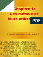 Chap1 Les Metaux Et Leurs Utilisations-2