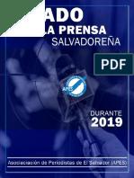 INFORME DEL ESTADO DE LA PRENSA SALVADOREÑA  2019