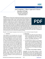 156096bcbe525783a7230fc699b5b674.Cryptography in Cloud Computing A Basic Approach to Ensure Security in Cloud.pdf