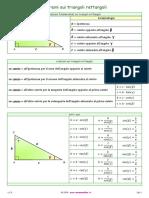 Teoremi triangoli rettangoli