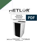 MANUAL CALDERA PELLETS CP15_ESP