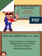K-12 Assessment Nomenclature(1)