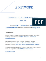 IAS.NETWORK DISASTER MANAGMENT NOTES