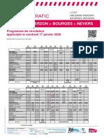 Orleans-Vierzon-bourges (Nevers) Du 17-01-2020