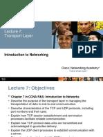 Lec07 Transport Layer