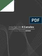 Ficha Tecnica Interfaz GX400