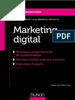 Marketing digital - Sandrine Medioni & Sarah Benmoyal Bouzaglo - Dunod - févr., 2018