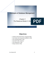 ch03_DS_The Relational Model 2_SQL