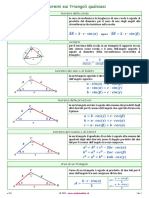 Teoremi triangoli qualsiasi