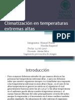 ventilacion altas temperaturas