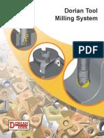 Dorian tool milling system catalog