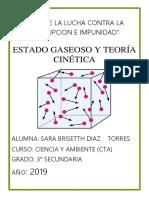 ESTADO GASEOSO Y TORIA CINETICA