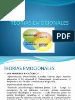 TEORÍAS EMOCIONALES