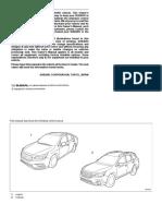 Subaru Manual Outback MSA5M1803B_STIS