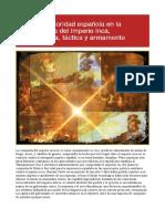 La superioridad española en la conquista del Imperio Inca