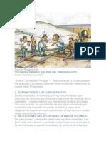 13 CLAVES PARA NO SALIRSE DEL PRESUPUESTO