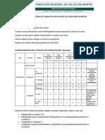 Diagnostico Situacional de Cadena de Frio a Nivel de La Red Xxxx