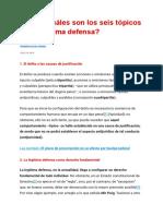 Tópico de defensa legal 10