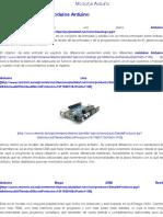 Modulos Arduino | CETRONIC - Componentes Electronicos