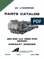 IGSO-540 Parts catalog