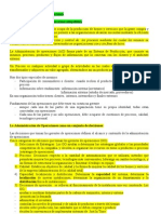 Adm de La Producc Resumen 1Parcial Rusinek Libro Krajewski Cap 1 a 4
