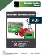 Viper Maxi Mk II HF Assembly Operation Manual_  REV 2 - Nov  2014