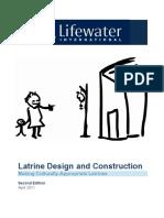 Lifewater LatrineDesignandConstruction Manual