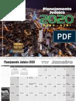 CALENDÁRIO JUDAICO 2020