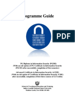Programme Guide PGDIS ACISE -July '2013 2