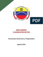 DOCUMENTO DOCTRINARIO DE LA GMCP VERSION DEFINITIVA documento de lectura.doc