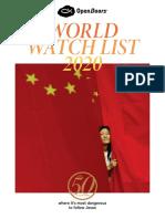 2020 World Watch List