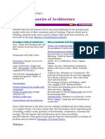 Theories of Architecture