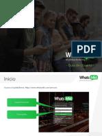 Guía WhatsMkt 2018 Plataforma Web