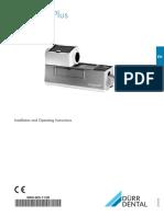 Dürr_Periomat_Plus_-_Installation_manual