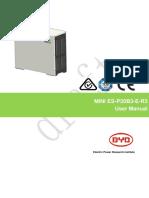 Mini Es p30b3 e r3 User Manual (一般)