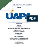 Tarea 10 Historia Del Derecho y de Las Ideas Politicas Fdg-103