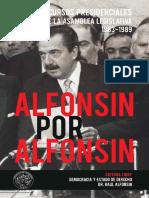 Alfonsín por Alfonsín