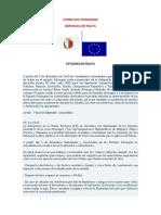 Documento Oficial Malta