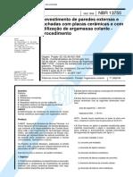 17. NBR 13755, 1996 - Revestimento de paredes externas (antiga).pdf