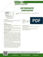 018-ES-Detergente Limpiador Idroless