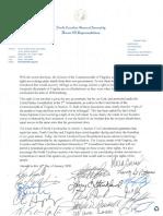 Gun sanctuary support letter