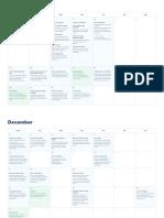 Xmas Business Calendar