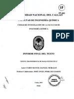 Transferencia de masa convectiva - Fabio Rangel