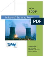 Ntpc Industrial Training Report
