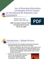 Overview of Alternative Energy